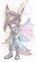 .:-Fanciful Knight of Blue-:. by Axe-Cell