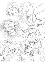 Sonic Naga Doodles.6 by Narcotize-Nagini