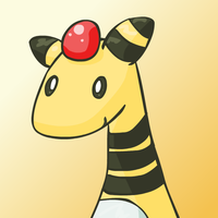 Simple Ampharos by NessStar3000