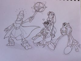 Me and the Mixels series 3 (LA) by SonicGurl82