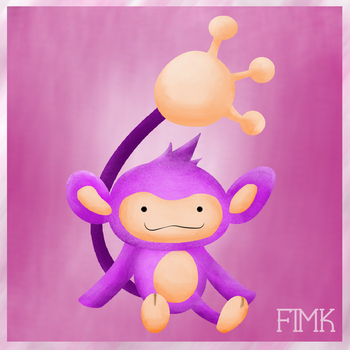 Ditto as Aipom! by fimk
