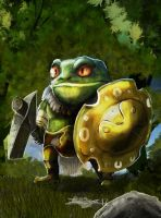 Game Character Illustration: Toad by Brollonks