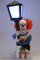 Pennywise painted II by vrlovecats