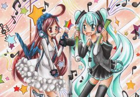 142nd + 143rd ACEO by Hime-chama