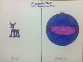 Mammoth Mutt (Violet Beauregarde Style) by sonofss2-version2