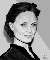 Emily Deschanel by carolinacv13