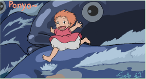 .:iScribble: Ponyo:. by Patsuko