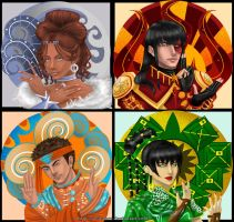 AtLA: The Four Elements by elionora