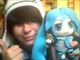 Me and Hatsune by Carolynzy6125andBSP