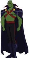 New Martian Manhunter by AMTModollas