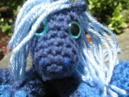 Mini Princess Luna Plushie Amigurumi Detail 3 by RTakeshi