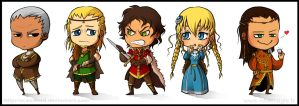 Chibi sovereigns by OceanLord