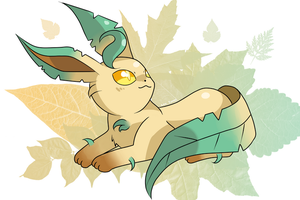 Leafeon by SeviYummy