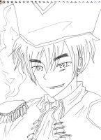 Seme Pirate England - Lineart by ouranhalfkewl
