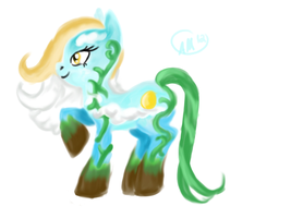 Jack and the Bean Stalk pony concept by XantheStar