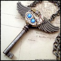 Steampunk Roman God Key 2 by SoulCatcher06