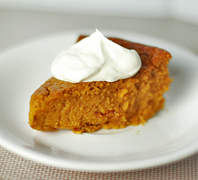 Crustless Pumpkin Pie by chompsoflife