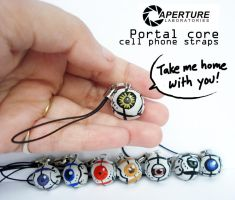 Portal Core Cell Charms by lunajile