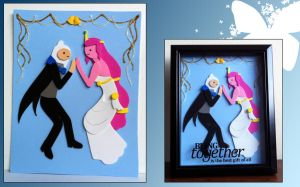 Adventure Time Wedding Bells by eclipsedsoul