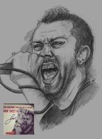 Tim Mcilrath of Rise Against by Sabriiistrash