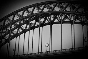 Tyne Bridge Old by svendo
