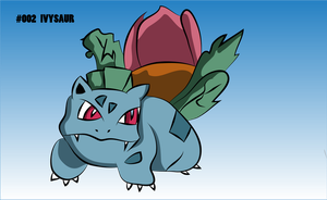 #002 Ivysaur by firenight617