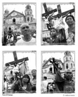 faces of Quiapo by tallaxemia