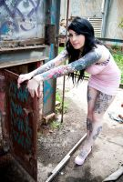 Hayley - Tattoo Shots 12 by paradoxphotography