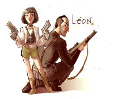 Leon et Mathilda by Crispy-Gypsy