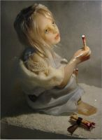The Little Match Girl by Inchelina