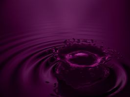 Splash 2 - purple by zbyg