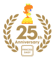 Princess Daisy 25th anniversary by ZeFrenchM