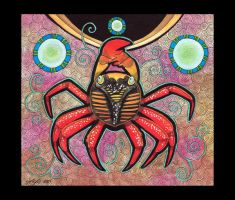Sally Lightfoot Crab as Totem by Ravenari
