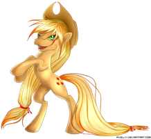 Applejack by pixeLXY