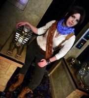 Uncharted cosplay chick desert Drake by LadyofRohan87