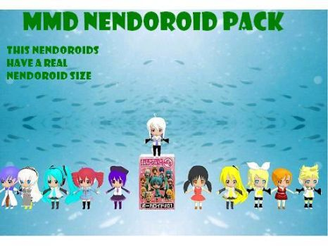 MMD nendoroid pack by bawicho