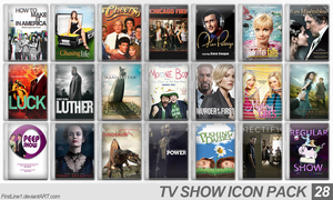 TV Show Icon Pack 28 by FirstLine1