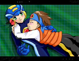 More Rockman.exe fanart by eeveelover