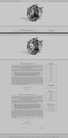 Blogspot templates Handsome / Severus by stupid-owl