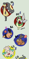 .:February Clutch Dump:. 14 LEFT by poketmon