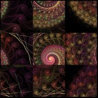 Curly Squares by purple-whirlpool