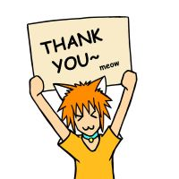 Thank You Meow~ by stryler
