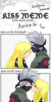 Kiss meme: Amikashi by The-Angel-Deoden