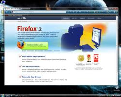Minimal Firefox on Vista by Iceman2032