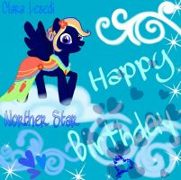 Happy Birthday by Clara-Lesedi