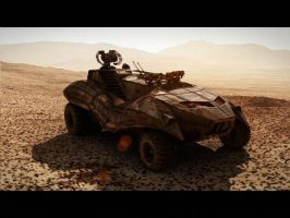 Mars Rover by nvseal