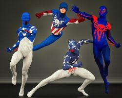 Spiderman 2nd skin textures x M4 Bundle by hiram67