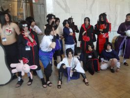 Uchiha Clan Photo- Anime Boston 2014 by BirdMan-Hwah