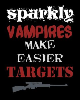 Sparkly Targets by ApocalyptopiaDesigns