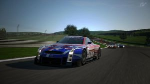 GT Cars at the Test Track by K9RASArt